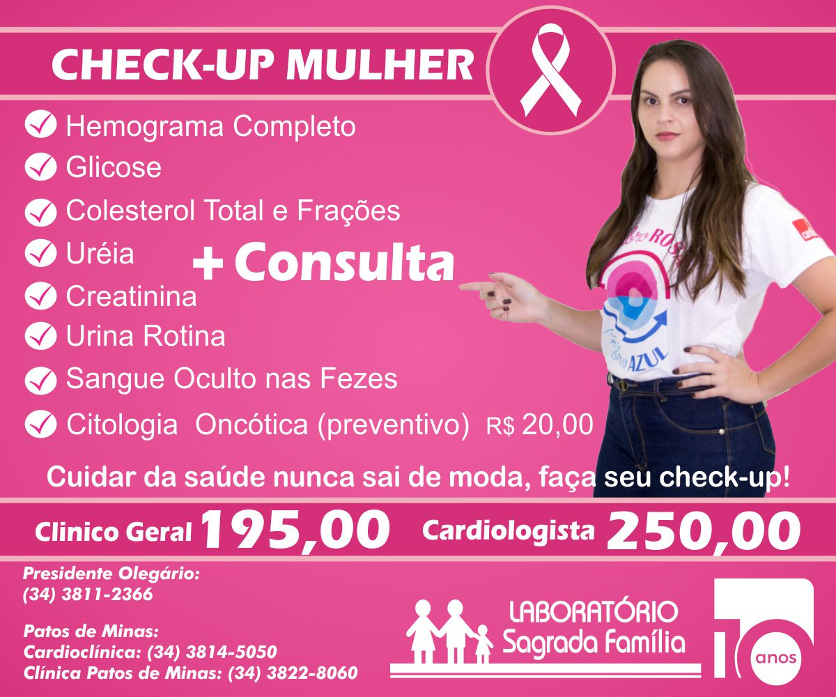 Check-up Mulher